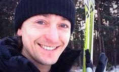 Сергей Безруков встал на лыжи