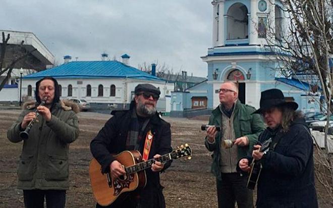 БГ выступил в Воронеже