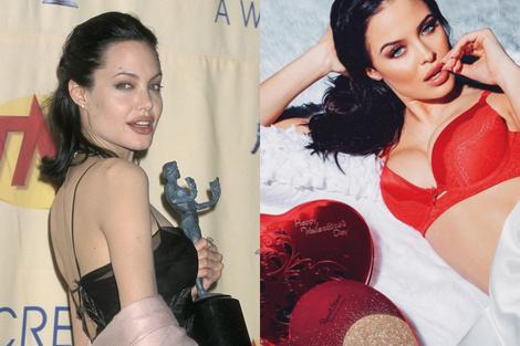 В Instagram нашелся новый двойник Анджелины Джоли | галерея [1] фото [3]