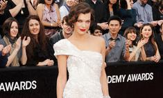 «Оскар»-2012: звезды прошлись по красной ковровой дорожке