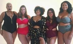 Модель plus-size придумала красивые бикини для толстушек