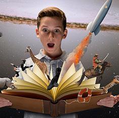 Топ-10 книг, которые оторвут детей от компьютеров