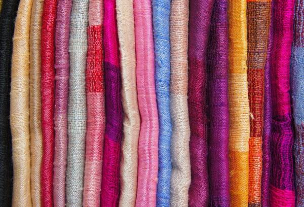 Набрать ткань на шторы