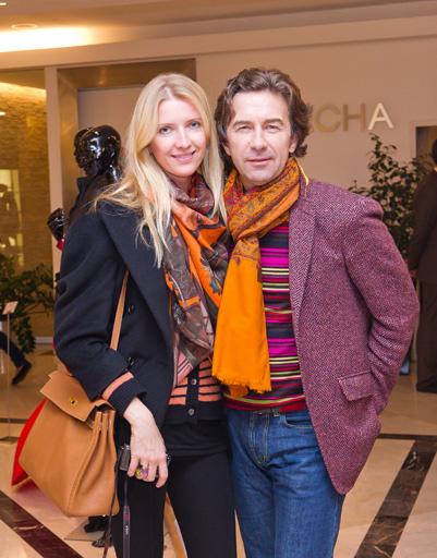 Валерий Сюткин с женой Виолетой