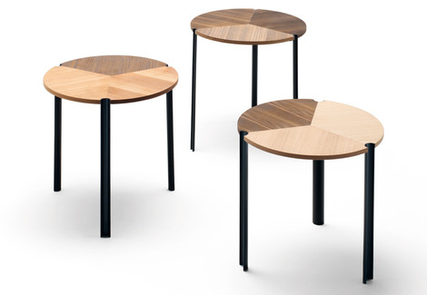 Столики Starsky, Living Divani, салоны «Флэт-интерьеры», Галерея дизайна/bulthaup СПб