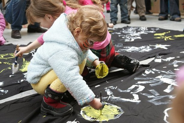 Выставка «Краски детства»