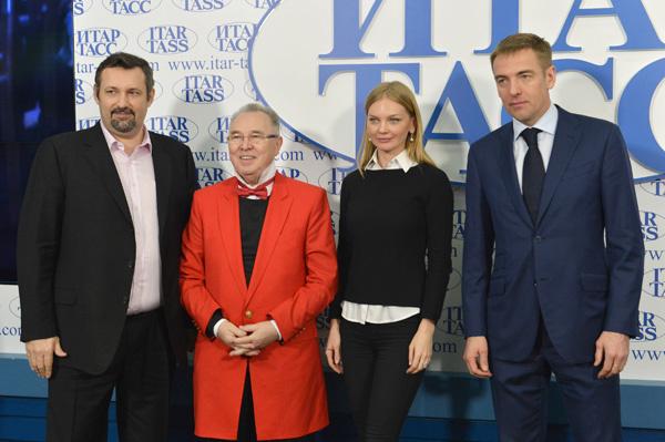 Александр Шумский, Вячеслав Зайцев, Елена Кулецкая и Виктор Евтухов