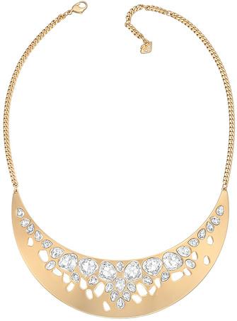 Swarovski Колье Ariane, металл с золотым покрытием, кристаллы Swarovski