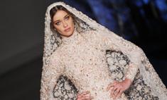 Неделя высокой моды: свадебные платья осень-2015