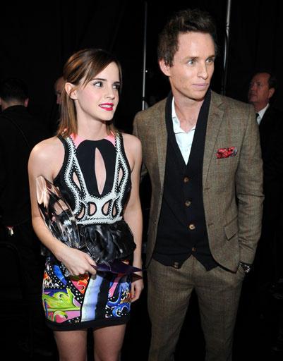 Эмма Уотсон (Emma Watson) и Эдди Редмэйн (Eddie Redmayne)