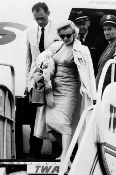 Мэрилин Монро, 1956 год