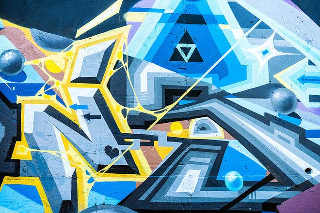 Картина «Большой продакшен», фестиваль «Стенограффия», фото