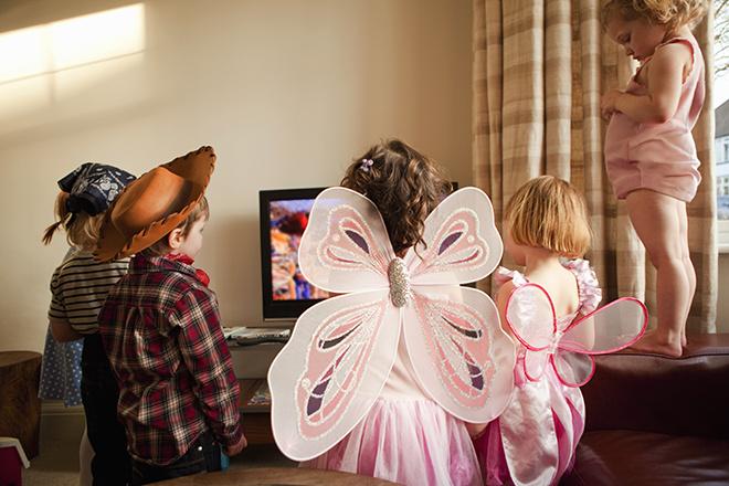 телевизор губит творческие способности детей