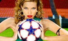 Бренд bebe посвятил фотосессию чемпионату мира по футболу