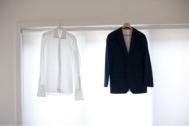 Как почистить костюм в домашних условиях