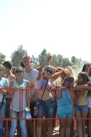 Фестиваль красок в Иркутске