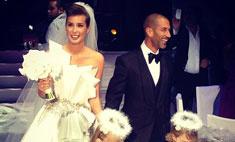 Кети Топурия показала свое настоящее свадебное платье