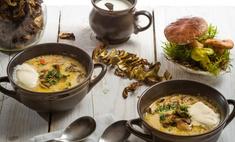 Суп готовим из грибов и макарон