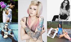 Тело – как картина: 10 татуированных красоток Екатеринбурга
