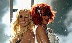 Поцелуй Рианны и Бритни! ФОТО и Видео