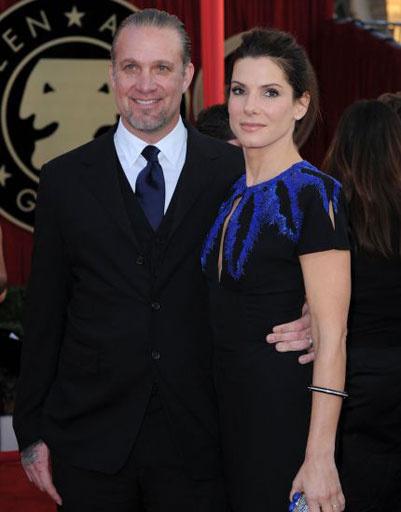 Сандра Баллок (Sandra Bullock) с мужем