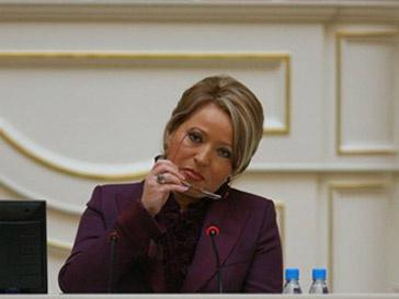 Валентина Матвиенко раскритиковала реформу здравоохранения