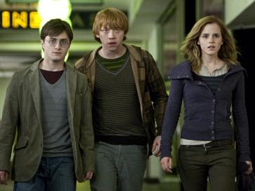"""Кадр из фильма """"Гарри Поттер и Дары Смерти"""""""