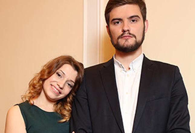 Денис и Ксения Сябитова фото