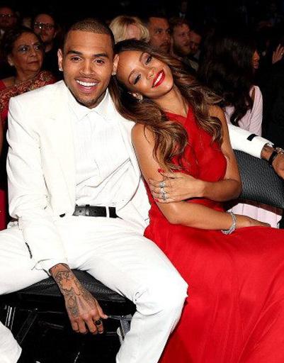 Рианна (Rihanna) Крис Браун (Chris Brown)