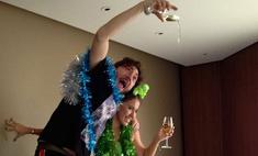 Собчак празднует Новый год с Михаилом Друяном