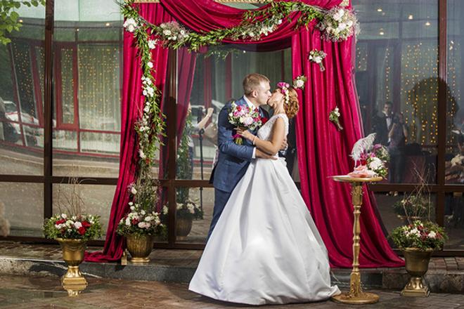 Юлия и Дмитрий Уваровы, свадьба