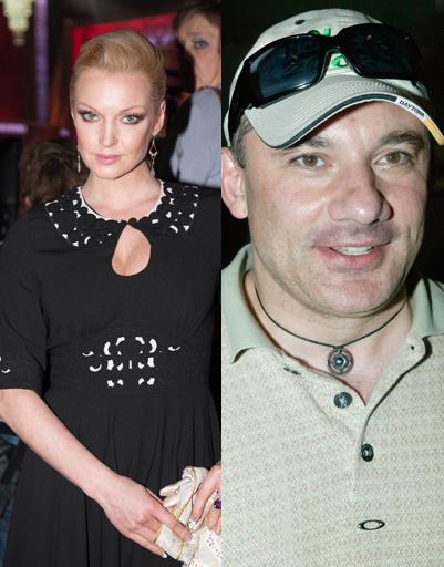Анастасия Волочкова и Николай Фоменко