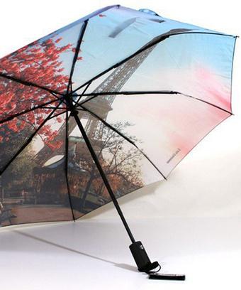 Открываешь зонтик – и ты в Париже!
