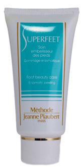 Эксолиант для ног Superfeet от Methode Jeanne Piaubert эффективно удаляет огрубевшую кожу стоп, смягчает, предотвращает появление мозолей и убирает уже имеющиеся.