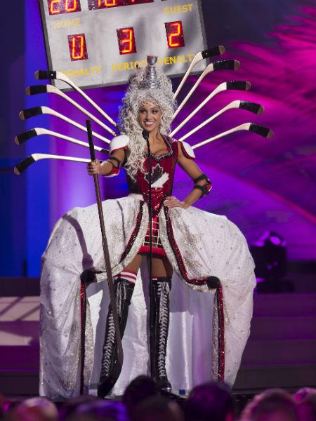 Мисс Вселенная 2014: участница из Канады, фото