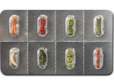 Овощи в упаковке