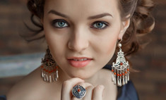 Модные украшения: изысканное серебро и восточные мотивы