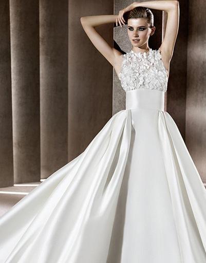 Свадебное платье Elie Saab, коллекция весна-лето 2012