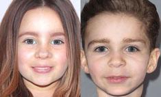 Составлен фотопортрет детей Бил и Тимберлейка