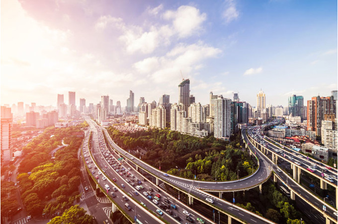 Транспортная развязка в мегаполисе