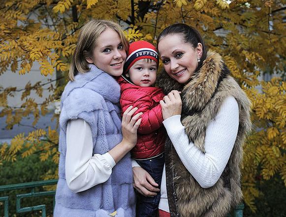 Ольга Кабо, семья, дочь, сын