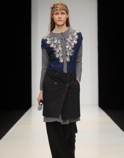 Mercedes-Benz Fashion Week Russia: Татьяна Парфенова, осень-зима 2012/13