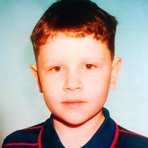 Евгений Кулик в детстве