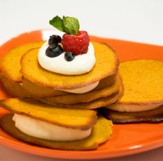 Рецепт: Тыквенное печенье от телеканала «Еда»