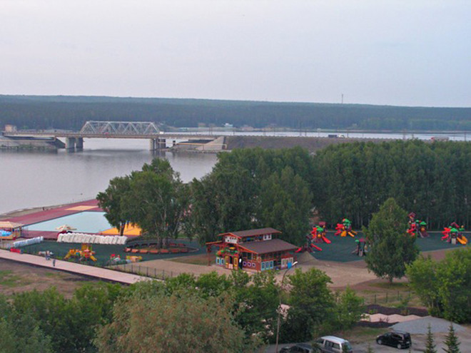 Пляжи Новосибирска: семейный парк Remix