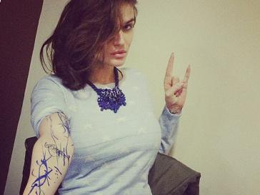 Новые татуировки