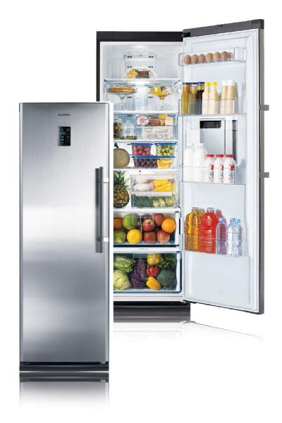 Холодильники и морозильники серии Twin (Samsung) можно устанавливать порознь в любом удобном месте кухни или гостиной.