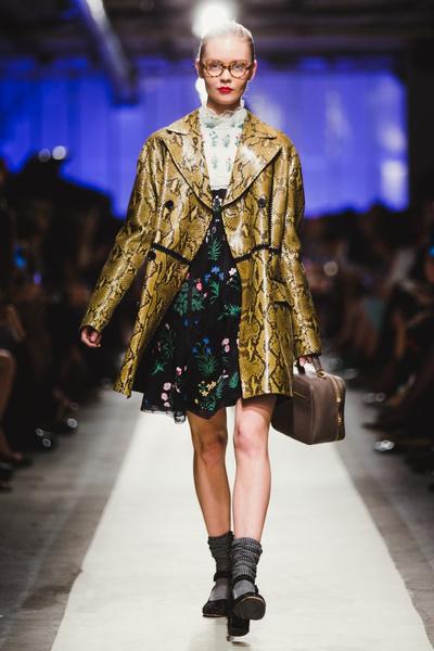 К зиме готовы: модный показ в ЦУМе | галерея [1] фото [14]