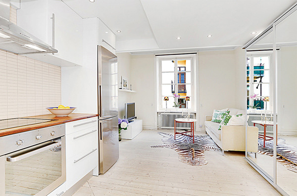 Как распланировать пространство в квартире-студии