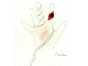 Рука Чери Блэр (Cherie Blair)